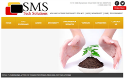 SMS Tech Solutions Website