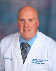 Dr. Randall Thomas has joined the team at Clintonville/Dublin Foot and Ankle Group, Inc.