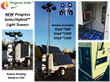 Progress Solar/Hybrid Light Tower Collage