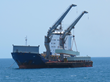 Offshore Transshipment Of Pontoon Sections During MOMA
