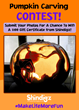 Shindigz Announces Pumpkin Carving Contest