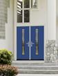 FRANK BLUE on Pulse door from Therma-Tru