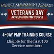 Project Management Academy Announces 2nd Annual Veterans Day Appreciation PMP Course