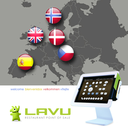Restaurant management system in Europe iPad POS Lavu