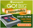 AccuQuilt Announces GO! BIG® Sweepstakes with $1000 Prize Package
