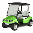 The new Phantom bodies for Club Car's Precedent golf cars  are available in six exciting new colors, including Tree Frog Green.