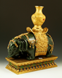 Chinese Spinach Green Jade Elephant