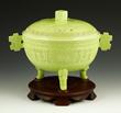 Chinese Green Glazed Porcelain Gui Bowl