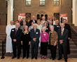 Members of Cradling Christianity including Fr. Peter and Msgr. Lane