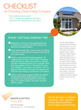 Checklist for Choosing a Solar Company