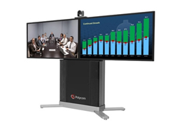 Polycom Group 500 Media Center with Dual Displays