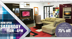 Furniture Showroom Saturday Hours