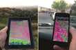Divining LA tool prototype: mobile app demonstration, high-resolution stormwater runoff assessment.
