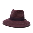 Purple fedora sun hat