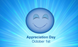 October 1st is Appreciation Day