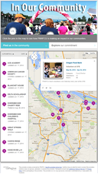 Pacific NW Federal Credit Union Launches its Social Impact Profile, powered by CafeGive Social