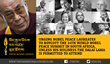 Four Nobel Laureates Boycott the Nobel Summit in Cape Town to Support...