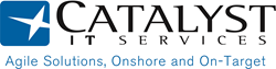 Catalyst IT Services provides onshore agile application services working with clients onsite or from development centers in Baltimore, Md. and Portland, Ore.