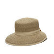 Gold Straw Bucket Hat by Physician Endorsed