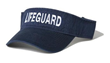 Navy Blue Lifeguard Visor