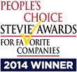 HRBoss Wins Big at People's Choice Stevie Award 2014