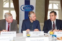 The expert energy panel at the breakfast briefing