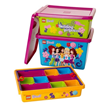 Lego Friends storage boxes from SpaceSavers.com.