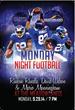 NY Giants Ruben Randle, David Wilson and Mario Manningham Host MNF...