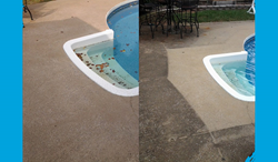 concrete cleaning Topeka KS