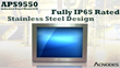 Acnodes Corporation's New 55-inch Fully IP65 Rated Stainless Steel...
