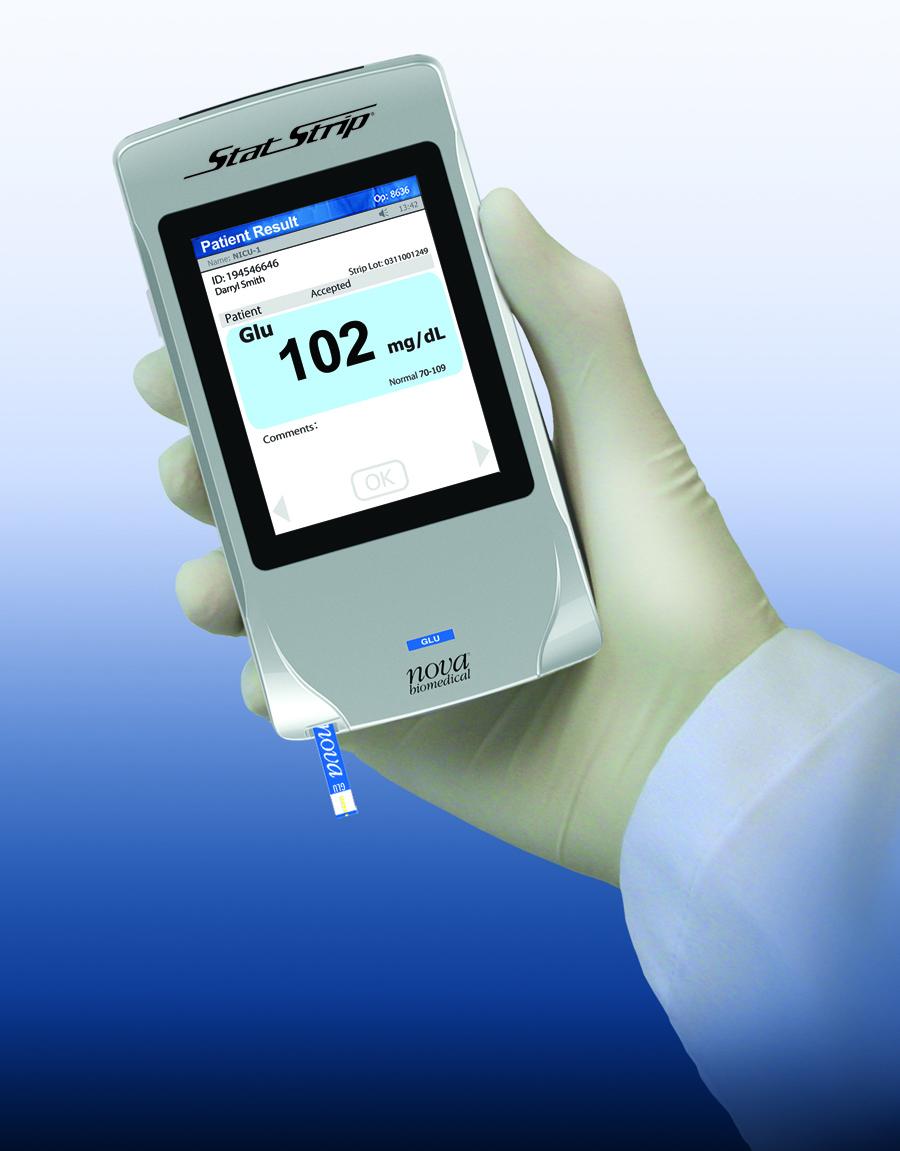 Nova Statstrip Glucose Hospital Meter System Receives Fda