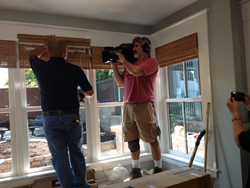 Budget Blinds on set with This Old House