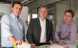 InSphero co-founders Dr. Jan Lichtenberg, Dr. Wolfgang Moritz, and Dr. Jens Kelm were honored on Sept 18, 2014 as the top Swiss Startup for 2014.