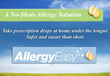 AllergyEasy Announces Sublingual Drops During Q4 In Time To Help With...