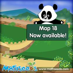 Mathseeds Map 18