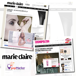 Marie Claire Implements PopMarker