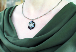 Tungsten Onyx Revolution Necklace