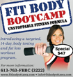 Ottawa Fit Body Boot Camp Announces 14-Day Fat Burning Fitness Boot...
