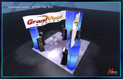 GVG Booth at Gaming Convention