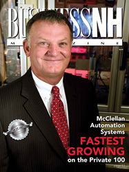 McClellan Automation Systems tops Business NH Magazine's list of fastest growing companies