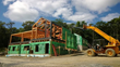 After raising the frame for this Austerlitz, NY family home, the NEW timber framers headed home, handing the reins over to the NEW construction group for enclosure.