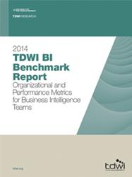 image of the 2014 TDWI BI Benchmark Report
