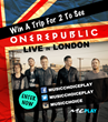 Music Choice Play Hosts OneRepublic Live in London VIP Experience