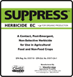 Westbridge Receives EPA Approval for Its New SUPPRESS™ Herbicide EC