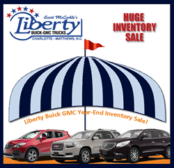 Big Inventory Clearance Sale at Liberty Buick GMC