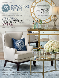 55 Downing Street Catalog Cover - Issue Features House Brands and New Branding