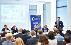Attendees at the Belgium-Azerbaijan Business Forum