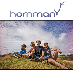 Hornman combine infectious underground bass and beats with catchy horns, earthy guitar and psychedelic vocal harmonies. Influences: range from Talking Heads to Hot Chip, Faithless, Aphex twin, Charles Mingus and James Brown. Alchemical lyrics are provided