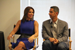 Laura and Jorge Posada @ New York Times Conference
