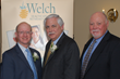 Welch Healthcare and Retirement Group principals (L to R): Paul T. Caslale Sr, Richard M. Welch Sr., and Michael Welch